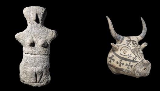 Το αρχαιότερο γλυπτό από ασβεστόλιθο που έχει βρεθεί στην Κάρπαθο εκτίθεται στο Βρετανικό Μουσείο