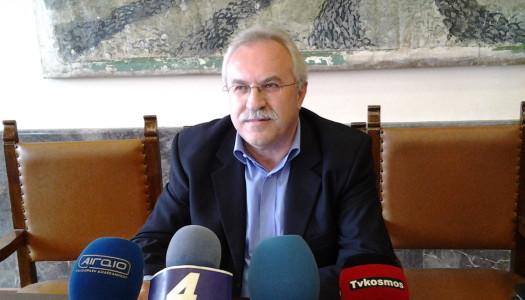 Ο βουλευτής Δημήτρης Γάκης στις εκδηλώσεις για την 71η επέτειο της απελευθέρωσης της Καρπάθου