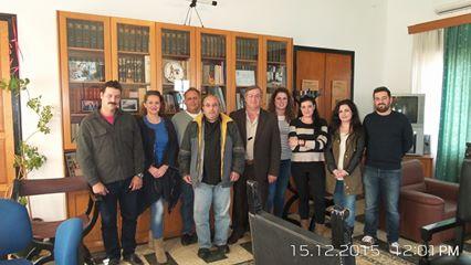 Παρουσιάστηκαν οι συμβασιούχοι υπάλληλοι πεντάμηνης θητείας στο επαρχείο