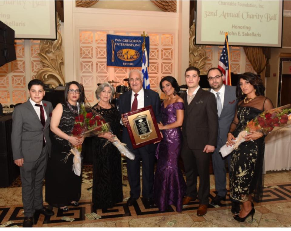 This is the Link for the Ethnikos Kirikas Newspaper ( Greek-American newspaper in NY) Article for the Pan Gregorian Dance Honoring John Sakellaris