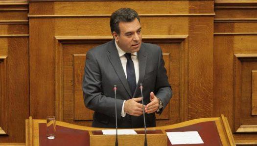 Ο Βουλευτής Μάνος Κόνσολας θέτει ζήτημα αθέτησης των δεσμεύσεων της Alpha Bank να διατηρήσει υποκαταστήματα στα τρία ακριτικά νησιά με βάση τη συμφωνία για τη μεταφορά των καταθέσεων της Συνεταιριστικής Δωδεκανήσου