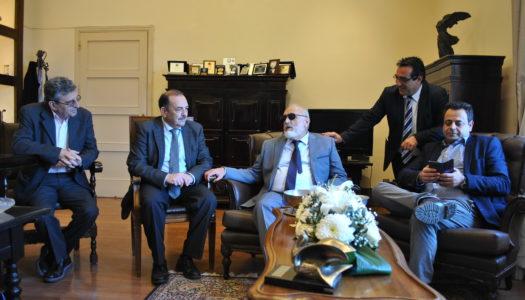 Καθοριστικές παρεμβάσεις του Υπουργού Ναυτιλίας Παναγιώτη Κουρουμπλή στη συνάντηση του με το Δήμαρχο Ρόδου Φώτη Χατζηδιάκο για θέματα βελτίωσης των λιμενικών υποδομών της Ρόδου.