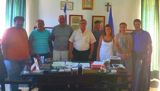 Την Περιφερειακή ενότητα Καρπάθου-Κάσου επισκέφθηκε ο εντεταλμένος  σύμβουλος Μεταφορών κ.Μπάρδος