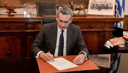 Υπεγράφη η σύμβαση με τον ανάδοχο για το έργο συντήρησης Οδικού Δικτύου Καρπάθου συνολικού ύψους 184.371,51 ευρώ.