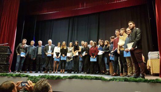 Ο Δημήτρης Γάκης στην τιμητική εκδήλωση του Δήμου για τους Ροδίους νέους  φοιτητές