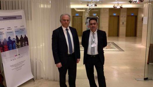 """Ο Δρ. Κωνσταντίνος Κωνσταντινίδης ευχαριστεί: Tην Ένωση Ελευθεροεπαγγελματιών Ιατρών Αττικής """"Ε.ΕΛ.Ι.Α"""" Την «Ελληνική Εταιρεία Νευροενδοκρινών Όγκων». 16ο Παγκύπριο Χειρουργικό Συνέδριο"""