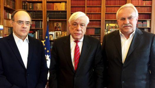 Επίσκεψη Δημήτρη Γάκη και Ανδρέα Μιχαηλίδη στον Πρόεδρο της Δημοκρατίας για την Κάσο και τα Ψαρά