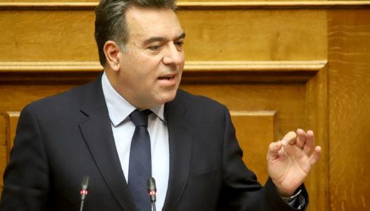 Στη Βουλή φέρνει ο Μάνος Κόνσολας τα προβλήματα της δημόσιας υγείας στην  Κάσο