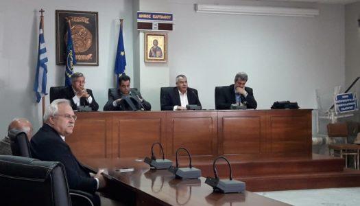 Ο Αναπληρωτής Υπουργός Υγείας, ο Αναπληρωτής Υπουργός Ναυτιλίας και ο  Βουλευτής ΣΥΡΙΖΑ στην Κάρπαθο