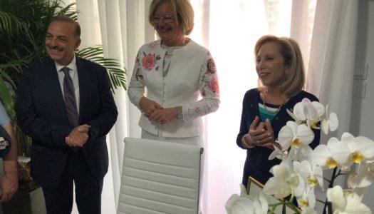 Εγκαίνια του Επίτιμου Προξενείου της Αυστρίας της περιφέρειας Νοτίου Αιγαίου με έδρα τη Ρόδο.|Πρόξενος  επί τιμής η κ. Μαίρη Μοσχή.