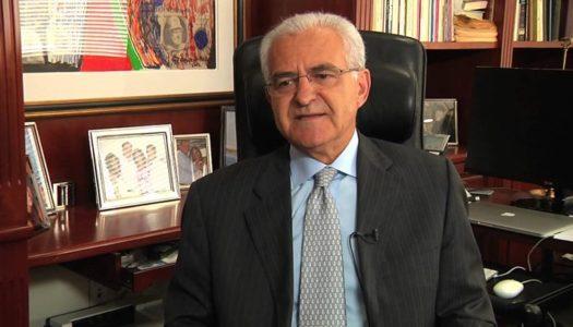 """Ο εκδότης του """"Εθνικού Κήρυκα"""" Αντώνης Διαματάρης, υφυπουργός Εξωτερικών για τον Απόδημο Ελληνισμό."""