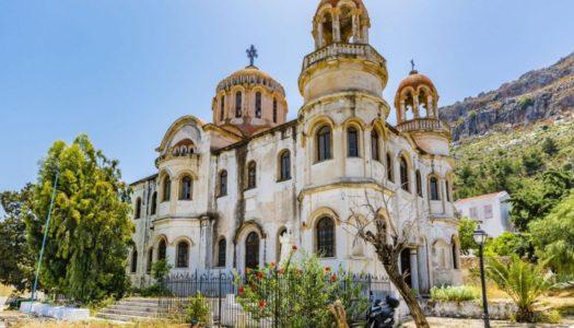 """Δωρεά του εφοπλιστή Αθανασίου Μαρτίνου, """"ΑΜΚΕ """"Αιγέας"""", η αποπεράτωση και  ανακαίνιση του ιστορικού ναού Αγίου Γεωργίου Σαντραπέ, στο Καστελλόριζο"""