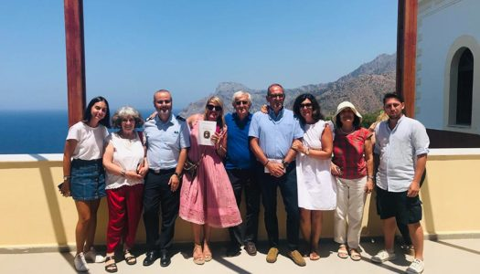 "75 years later | ""IL TENTAKI"" returns to Karpathos"
