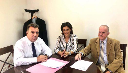 Συνάντηση της Επάρχου  Καρπάθου – Ηρωικής Νήσου Κάσου Καλλιόπης Νικολαΐδου με τον Υφυπουργό Τουρισμού Μάνο Κόνσολα