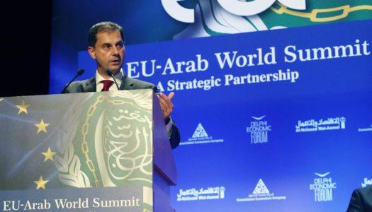 Πρόσκληση για επενδύσεις στον Αραβικό χώρο, από τον υπουργό Τουρισμού, κ. Χάρη Θεοχάρη, στην 4η Σύνοδο της Ευρω-Αραβικής Συνεργασίας (4th EU-Arab World Summit)