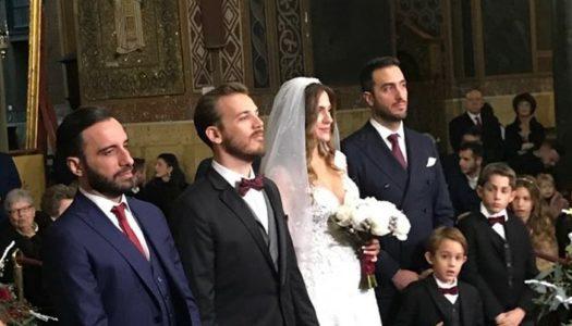 ΑΝΤΩΝΟΠΟΥΛΟΣ – ΜΑΤΑΡΑ: Ένας λαμπερός γάμος με εκλεκτούς καλεσμένους