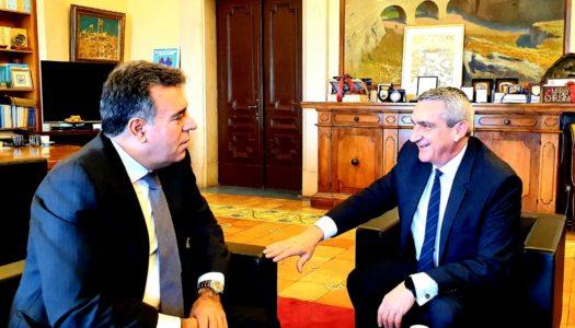 Συνεργασία του Περιφερειάρχη Ν. Αιγαίου Γιώργου Χατζημάρκου με τον Υφυπουργό Τουρισμού Μάνο Κόνσολα