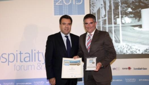 Ο επικεφαλής του Τομέα Τουρισμού της Ν.Δ κ. Μάνος Κόνσολας στην απονομή των Hospitality Awards 2015 στις 20/6/2015