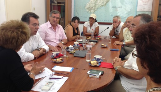 Μ. Κόνσολας: Συναντήσεις με τους εκπροσώπους της αυτοδιοίκησης και πολίτες της Κάσου