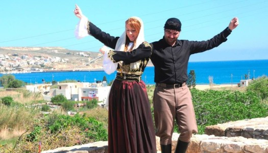 Tο Λύκειο Ελληνίδων Καρπάθου προσκαλεσμένο από την σχολή χορού της Λίτσας Βεζυράκη