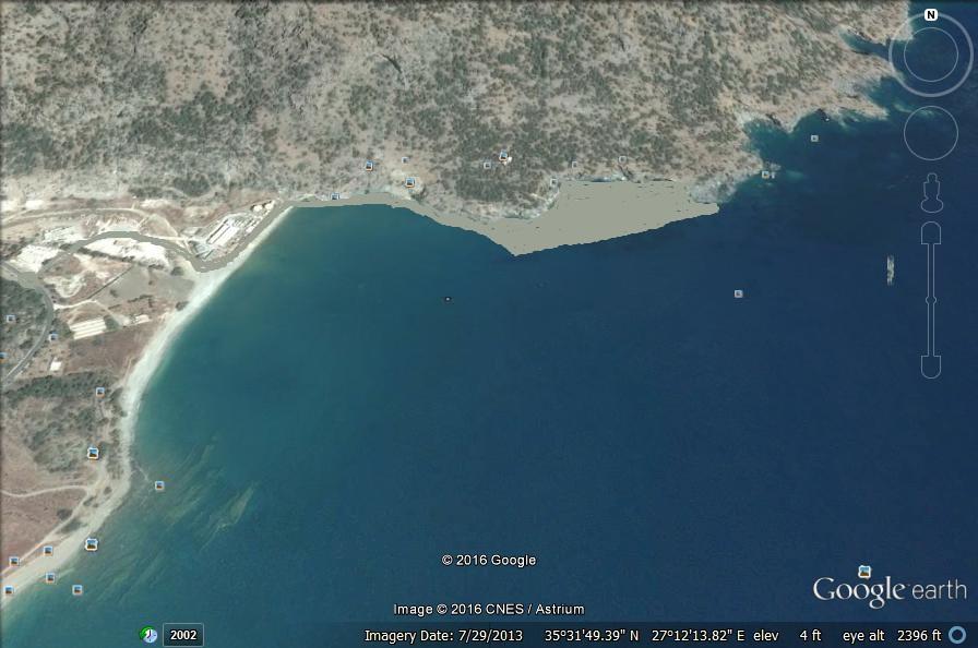 Δορυφορική Βρόντη Λιμάνι