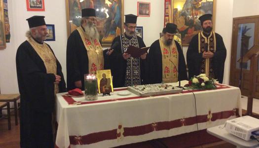 Κοπή Αγιοβασιλόπιτας Ιεράς Μονής Αγ. Γεωργίου Βασσών