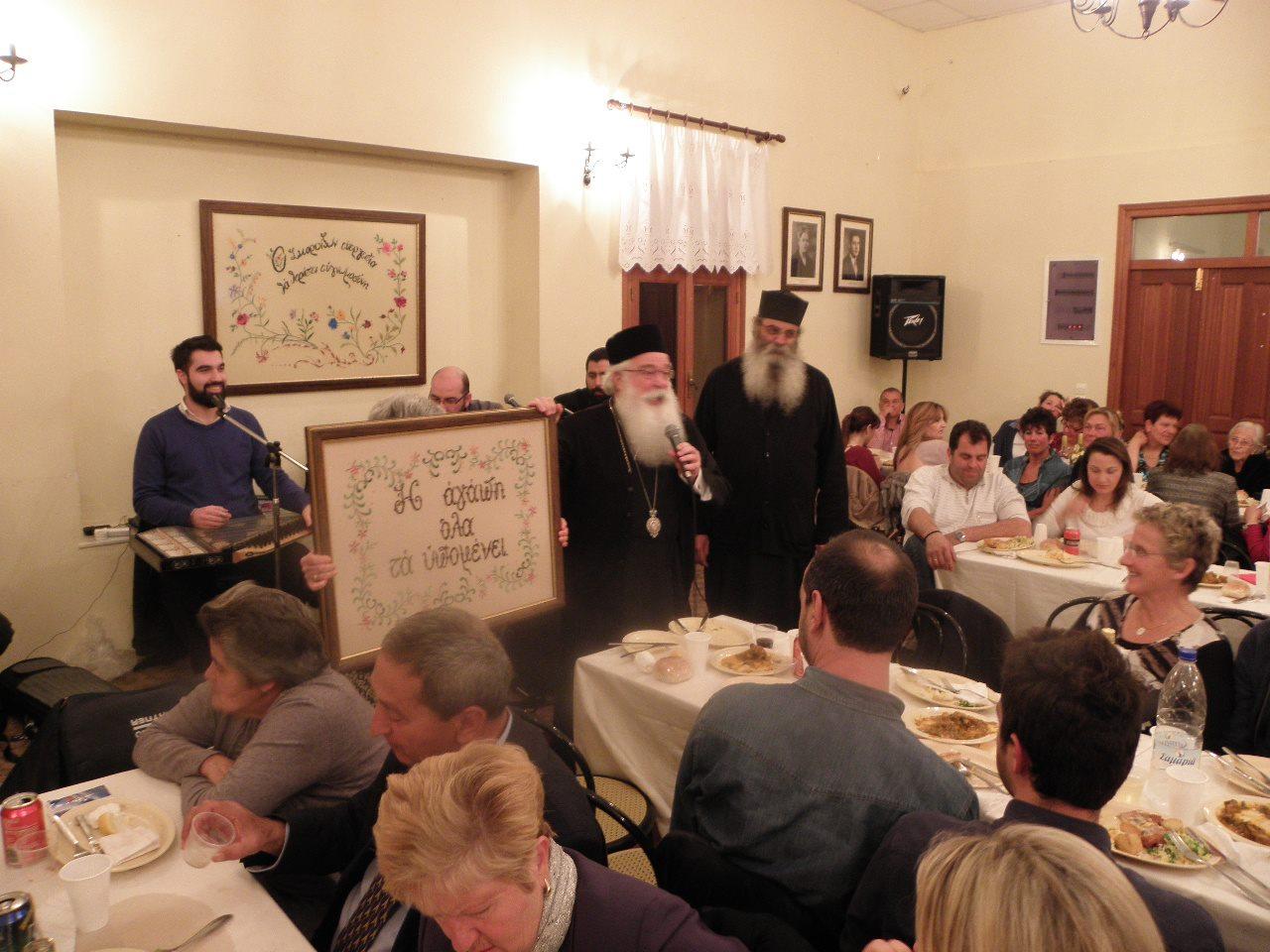 Από την επίσκεψη του Σεβασμιώτατου Μητροπολίτη Δημητριάδος και Αλμυρού κ.Ιγνάτιος στις 4-7 Μαρτίου 2016