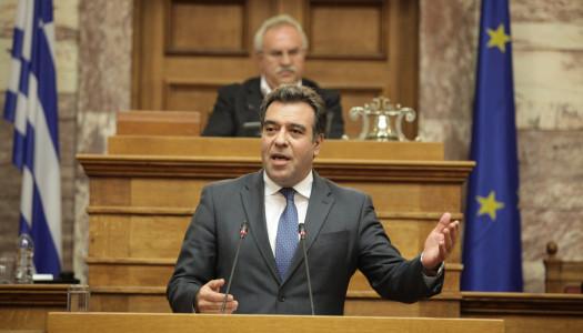 Ο Πρόεδρος της Βουλής κ.Νίκος Βούτσης έκανε δεκτή την πρόταση του Μάνου Κόνσολα για τη ρήτρα νησιωτικότητας