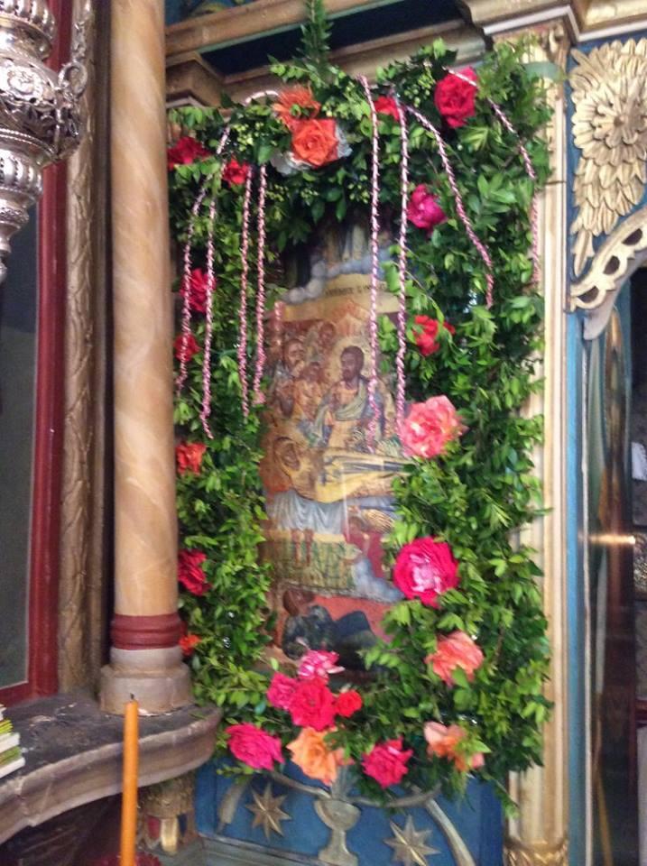 Στιγμιότυπα απο το πανηγύρι της Παναγίας στις Πυλές