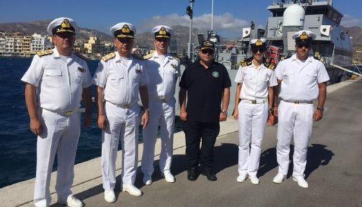 Ο Αρχηγός του Λιμενικού Σώματος Ελληνικής Ακτοφυλακής Αντιναύαρχος κ. Σταμάτιος Ράπτης στην Κάρπαθο!