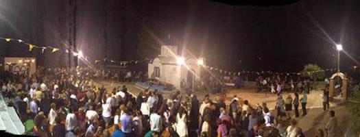 Μενετές: Κοσμοσυρροή στον Άη-Γιάννη στο Λακκί
