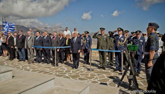 Με την παρουσία του Προέδρου της Δημοκρατίας γιόρτασε η Κάρπαθος την απελευθέρωσή της