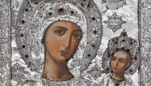 Βωλάδα: Η εικόνα της Υπεραγίας Θεοτόκου στον Ιερό Ναό Γεννήσεως Θεοτόκου Βωλάδος