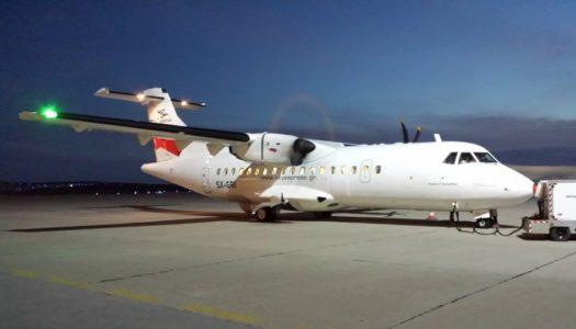 """""""Νήσος Κάρπαθος"""". Το όνομα του νέου αεροσκάφους της Sky Express!"""
