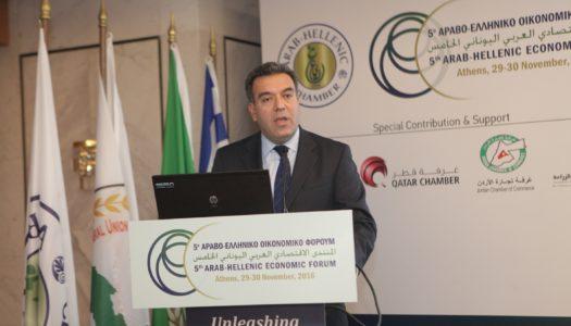 Μάνος Κόνσολας: «Νέα αντίληψη για την ελληνοαραβική συνεργασία στον τομέα του τουρισμού»