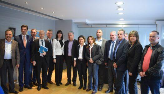 Επιμελητήριο Δωδεκανήσου: Συνάντηση εργασίας με την Υπουργό Τουρισμού κ. Έλενα Κουντουρά