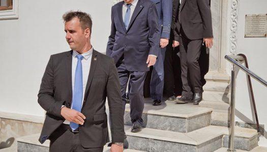 Στις 16 Ιουλίου 2017 ο Πρόεδρος Δημοκρατίας κ. Προκόπης Παυλόπουλος στην Κάσο