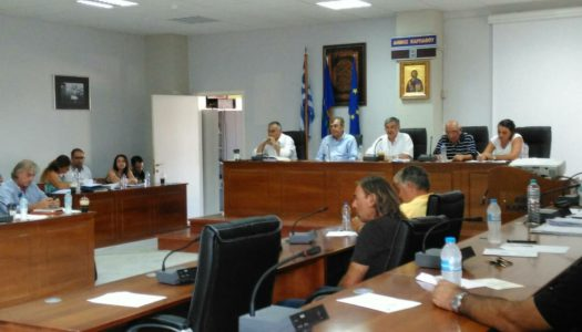 Η παρουσία του Αντιπροέδρου της Βουλής, Καθηγητή κ.Κρεματινού στη συνεδρίαση του Δημοτικού Συμβουλίου Καρπάθου, με θέμα το νοσοκομείο της Καρπάθου