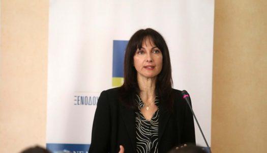 Έλενα Κουντουρά: O τουρισμός είναι εθνική υπόθεση, επένδυση στο μέλλον