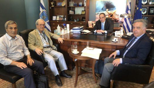 Συνάντηση του Βουλευτή Δωδεκανήσου Βασίλη Α. Υψηλάντη με τον Υπουργό Εμπορικής Ναυτιλίας Γιάννη Πλακιωτάκη για θέματα της Δωδεκανήσου | ΑΚΤΟΠΛΟΪΚΑ ΔΡΟΜΟΛΟΓΙΑ ΚΑΡΠΑΘΟΥ-KAΣΟΥ