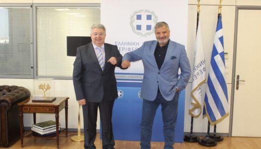 Η Γενική Γραμματεία Απόδημου Ελληνισμού και η Περιφέρεια Αττικής συντονίζουν τις δράσεις τους για τον Απόδημο Ελληνισμό