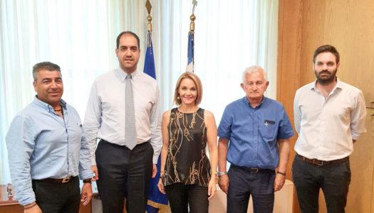 Οι πρόεδροι των ΚΤΕΛ Ρόδου, Κω και Καρπάθου ευχαριστούν την βουλευτή της Ν.Δ Μίκα Ιατρίδη