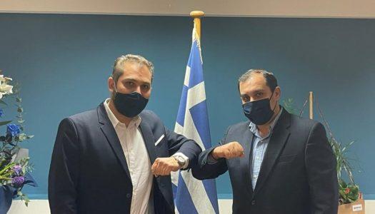 Η Hellenic Seaplanes και τα υδροπλάνα συναντούν τον νέο Υφυπουργό Ναυτιλίας, κ. Κωνσταντίνο Κατσαφάδο