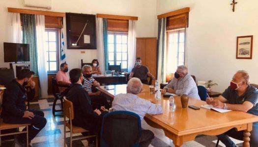 Επίσκεψη του Αντ/ρχη πρωτογενούς τομέα κ. Φιλήμονα Ζαννετίδη της Περιφέρειας Νοτίου Αιγαίου στην Κάρπαθο