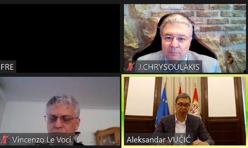 Γιάννης Χρυσουλάκης στο Club of Venice: «Η Ελλάδα χώρα πρότυπο στη διαχείριση της πανδημίας»