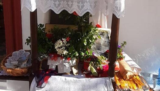 Στο γραφικό εκκλησάκι της Αγίας Μαρίνας στο Σταυρί Μενετών Καρπάθου γιορτάστηκε η χάρις της