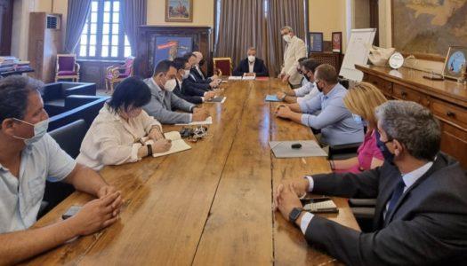 O Yπουργός Οικονομικών Χρήστος Σταικούρας στη Ρόδο