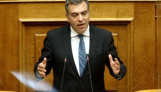ΜΑΝΟΣ ΚΟΝΣΟΛΑΣ: «Η Ελλάδα δεν θα μετατραπεί σε χώρο υποδοχής ενός νέου μεταναστευτικού κύματος»