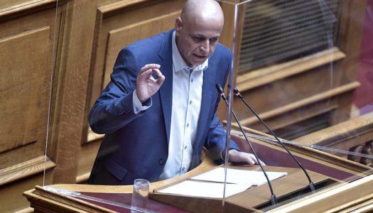 Ν. Σαντορινιός στη Βουλή: Παραμονές Αυγούστου, τα νησιά μας μπαίνουν στο «βαθύ κόκκινο» εξαιτίας της έλλειψης επαρκούς ελέγχου εφαρμογής των μέτρων και επιδημιολογικής επιτήρησης»