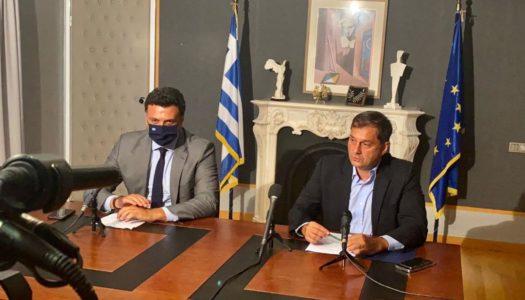 Πραγματοποιήθηκε η τελετή παράδοσης – παραλαβής στο Υπουργείο Τουρισμού από τον απερχόμενο υπουργό κ. Χ. Θεοχάρη στον νέο υπουργό Τουρισμού κ. Βασίλη Κικίλια.